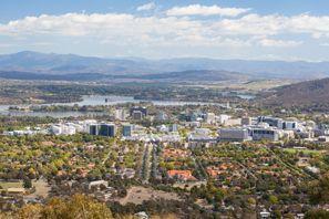 Araba kiralama Canberra, Avustralya