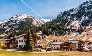 Araba kiralama Lech Am Arlberg, Avusturya