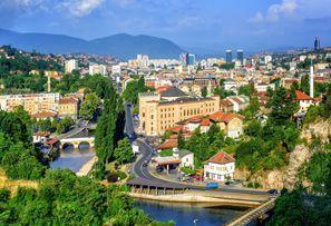 Araba kiralama Sarajevo, Bosna Hersek
