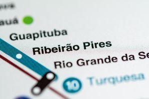 Araba kiralama Ribeirao Pires, Brezilya