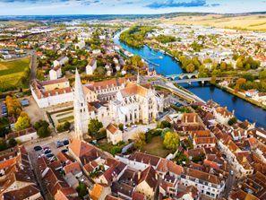 Araba kiralama Auxerre, Fransa