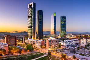 Araba kiralama Madrid, İspanya