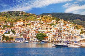 Araba kiralama Skopelos, Yunanistan